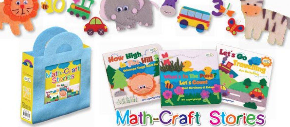 Math-Craft Stories - Capung Mungil