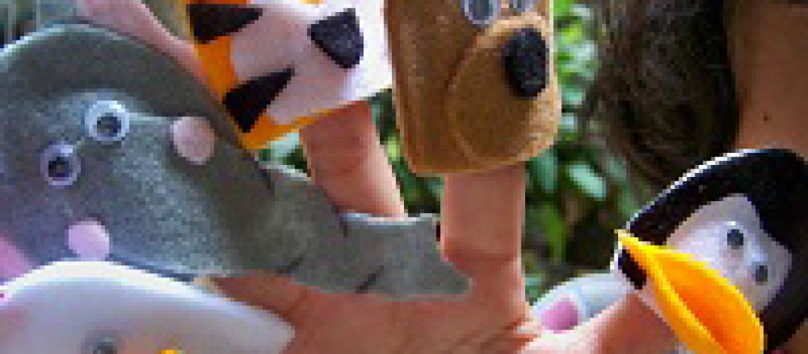 Finger Puppet - Tata