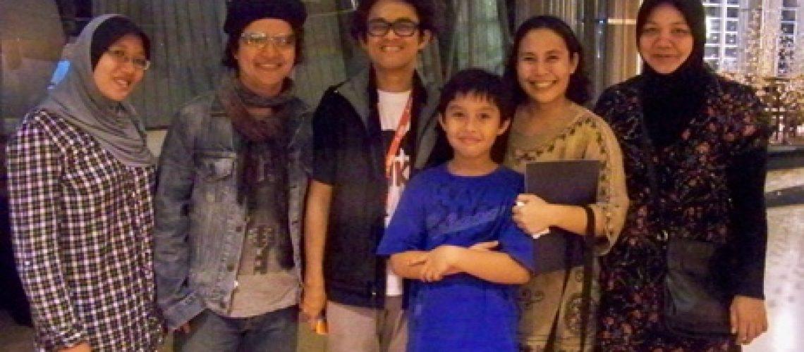 Bersama Andrea Hirata & Riri Reza
